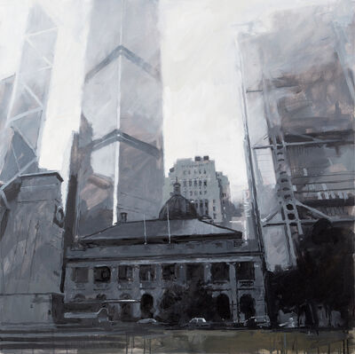 James Hart Dyke, 'Old Supreme Court Building and The China Club, Hong Kong', 2014