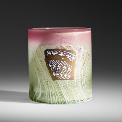 Dale Chihuly, 'Early Blanket Cylinder', 1976