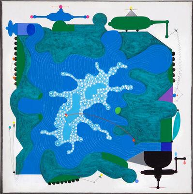 Luis Cruz Azaceta, 'Shifting States - Morganza Spill', 2011