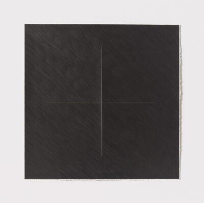 Stephen Antonakos, 'Untitled Cut, O#9', 1977