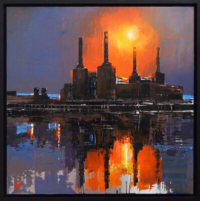Paul Kenton, 'Battersea Burns', 2019