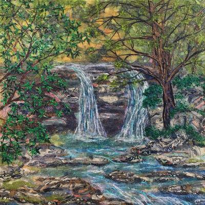 Laura Adams, 'Summer Waterfall', 2018