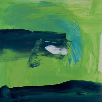 Dick Evans, 'Emergence in Green', 2019
