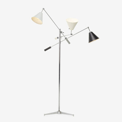 Angelo Lelii, 'Triennale floor lamp, model 12128', 1947