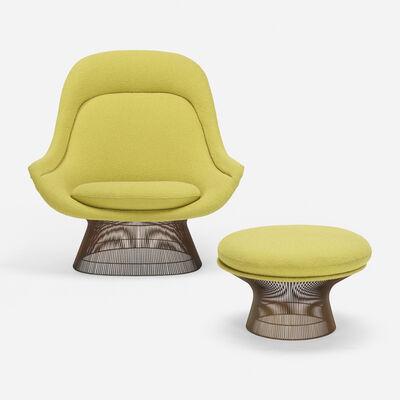 Warren Platner, 'Lounge chair and ottoman', 1966