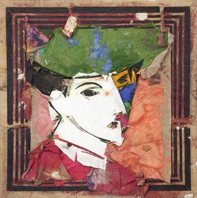 Manolo Valdés, 'Retrato con sombrero verde', 2001