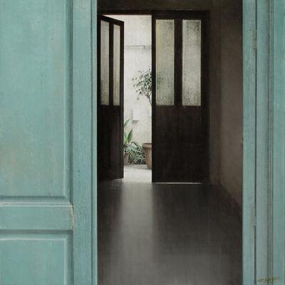 Carlos Morago, 'Puerta verde II', 2019