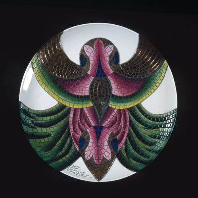 Judy Chicago, 'Theodora Test Plate #7 from The Dinner Party', 1975-1978