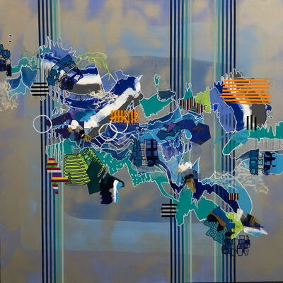Yuni Lee, 'Blue Displacement', 2019