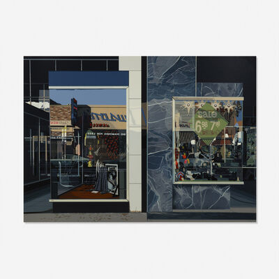 Richard Estes, 'Qualicraft Shoes', 1974