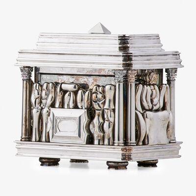 Miguel Berrocal, 'Il Cofanetto puzzle sculpture, Verona, Italy'