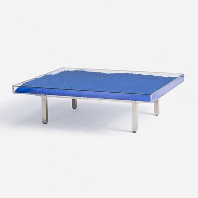 Yves Klein, 'Table 'IKB®'', 1961