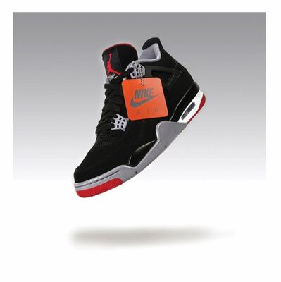 "Adam Port, ' In Flight (Air Jordan 4 Retro OG) ""Bred""', 2020"