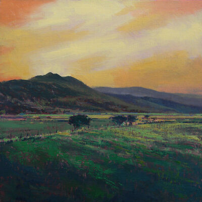 Tom Howard, 'Sunset Over the Fields of Bancroft', 2018
