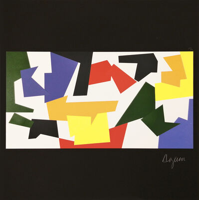 Yaacov Agam, 'Moving Painting Assemblage', 1953-1980