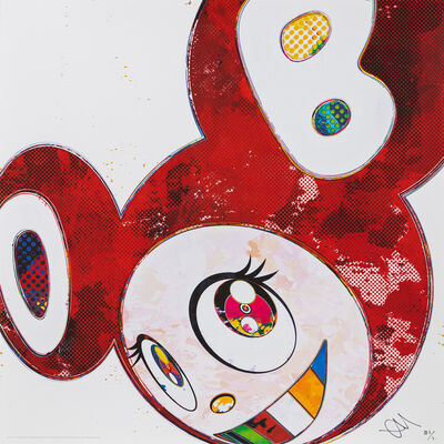 Takashi Murakami, 'And Then x 6  (Vermilion: The Superflat Method)', 2013