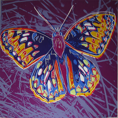 Andy Warhol, 'San Francisco Silverspot II.298 from the Endangered Species portfolio', 1983