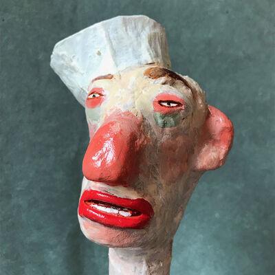 """George Thompson, ' """"Sailor Head 2""""', 2019"""