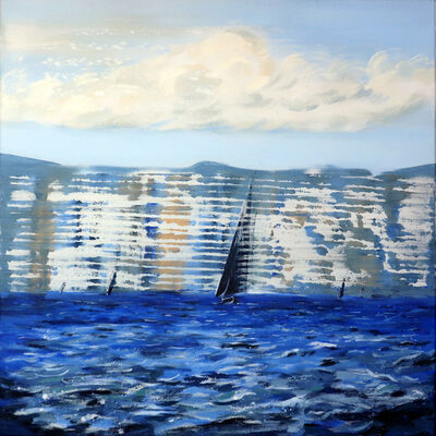 Darren Coffield, 'Seascape [after Monet]', 2019