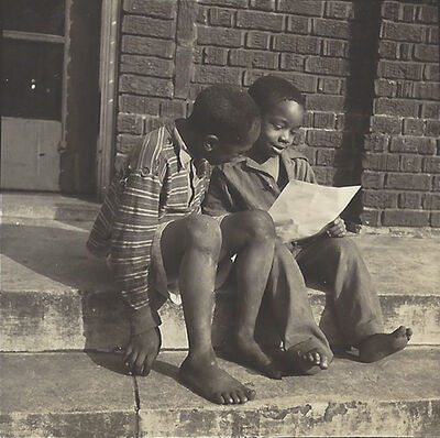 Gordon Parks, 'Untitled (Two boys reading)', ca. 1940