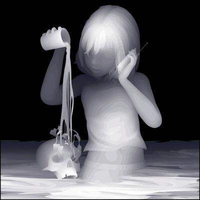 Kazuki Takamatsu, 'I got an order to pour hot water', 2011