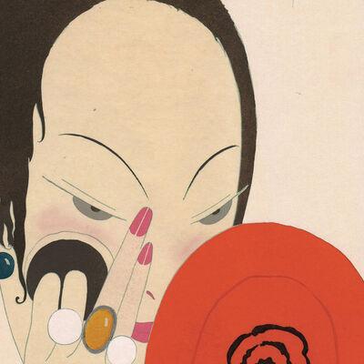 """Georges Lepape, '""""La Femme au miroir rouge""""', 1919"""
