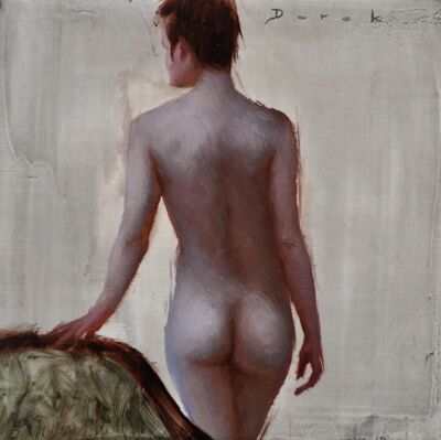 Derek Harrison, 'Standing Figure back', 2018
