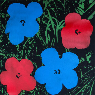Logan Hicks, 'Poppies II - Homage to Warhol', 2019