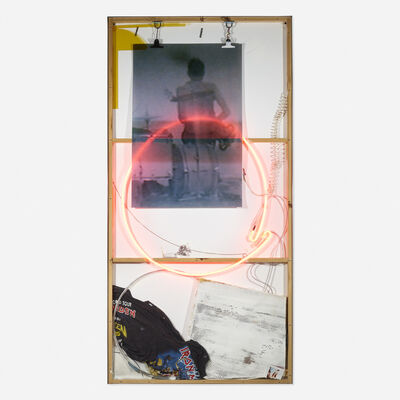 Joris Van de Moortel, 'Iron Man, Pink Man, Guitar Man', 2016