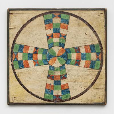 Unknown Artist, 'Parcheesi Variation Game Board', Late 19th Century