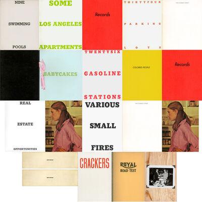 Ed Ruscha, '20 artist books by Ed Ruscha', 1963-1978