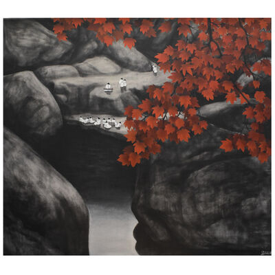 Sanzi, '秋水伊人Autumn By The Water (Limited print)'