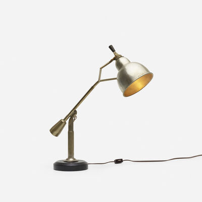 Edouard-Wilfred Buquet, 'table lamp', c. 1925