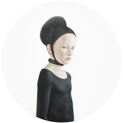Salustiano, 'Jorge vestido de negro', 2014