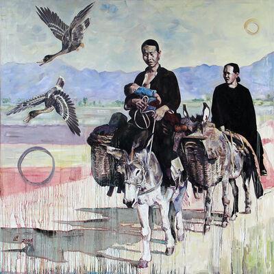 Hung Liu, 'Western Wind', 2006
