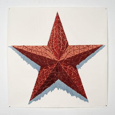Dagoberto Rodríguez, 'No estrella roja dos', 2018