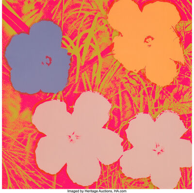 Andy Warhol, 'Untitled, from Flowers Portfolio', 1970