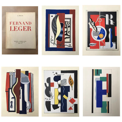 Fernand Léger, 'Cahier d'Art, complete with 5 pochoirs. ', 1928