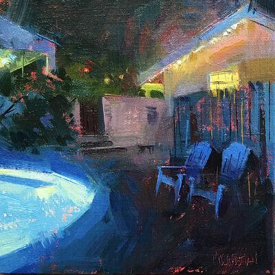 Jennifer McChristian, 'Late Night Swim', 2017