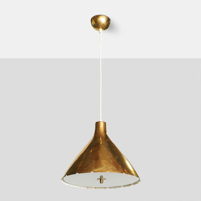 Paavo Tynell, 'Brass Pendant by Paavo Tynell'