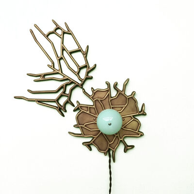 Lindsey Adelman, 'Custom Marina Medallion Pair', 2015