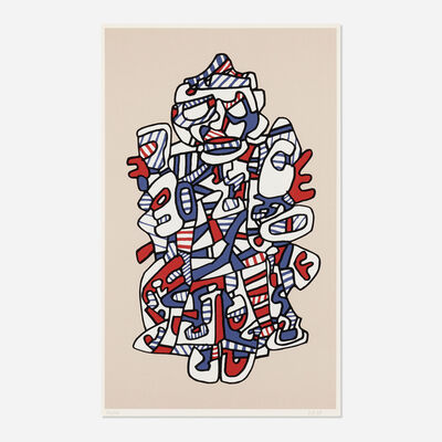 Jean Dubuffet, 'Le Vizir (from Fables)', 1976