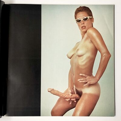 Lynda Benglis, 'Artforum ad', 1974