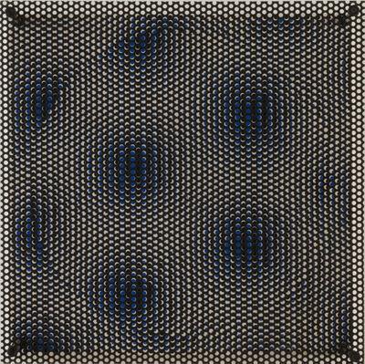 Antonio Asis, 'Cercle bleu et blanc', 1970