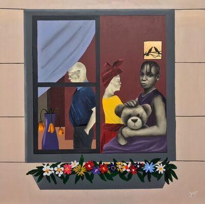 David Otaru, 'Girl Through the Window', 2021