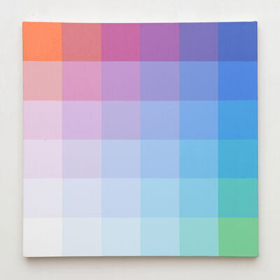 Robert Swain, 'Untitled, Study for 6x6 25x5A', 2016