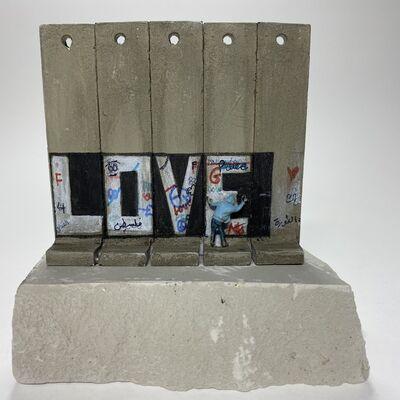 Banksy, 'SUMMER SALE / Banksy Walled Off Hotel Wall Sculpture - Love - 2017', 2017