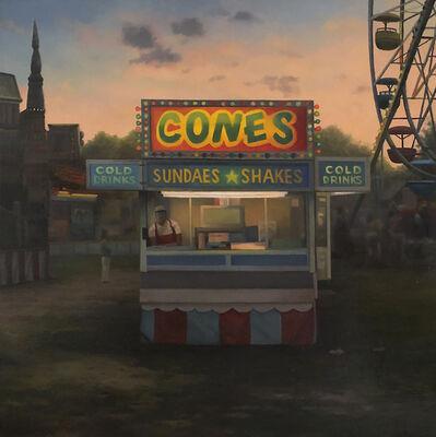 Scott Prior, 'Cones', 2019