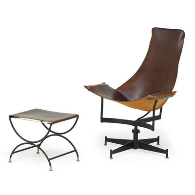 William Katavolos, 'Lounge chair and ottoman, USA', 1960s
