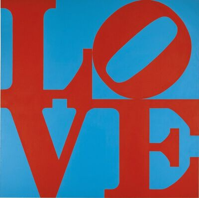 Robert Indiana, 'Book of Love', 1996